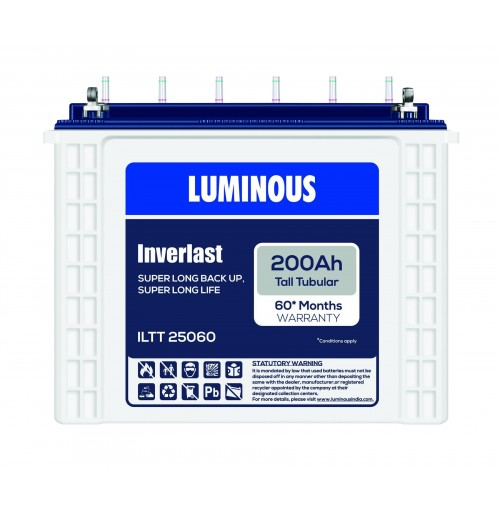 Luminous Tall Tubular Battery ILTT25060 - 200AH