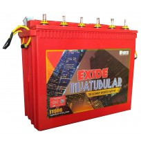 EXIDE Inva Tubular IT500 - 150AH Tall Tubular Battery