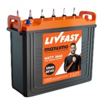 LivFast Maxximo MXTT 2660 - 230AH Tall Tubular Battery