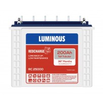 Luminous Red Charge RC25000 - 200AH Tall Tubular Battery