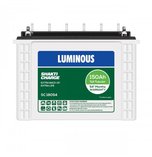 Luminous Tall Tubular Battery SC18054 - 150AH