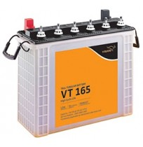 V-Guard Battery VT165 - 150AH Tall Tubular Battery