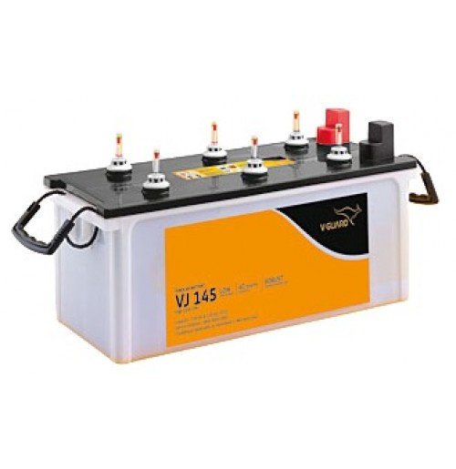 V-Guard Battery VJ145 - 135AH Short Tubular Battery