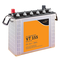 V-Guard  VT155D - 150AH Tall Tubular Battery