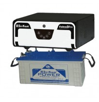 Su-Kam Falcon Eco 1000 Inverter + Su-Kam PowerGrand 135 Battery