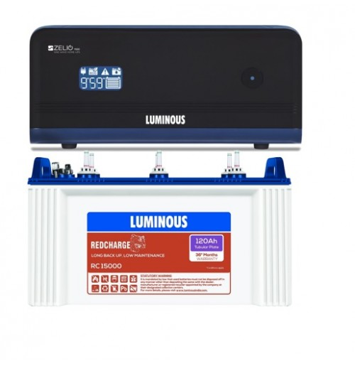 Luminous Zelio 1100 with Luminous Red Charge RC15000 Battery