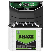 Amaze AN4500+ Inverter with 3 x Amaze 5036TT 200AH Tall Tubular Battery