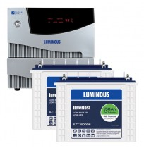 Luminous Cruze 2KVA Inverter + 2 x Luminous ILTT18000N Batteries