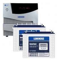 Luminous Cruze 2KVA Inverter + 2 x Luminous ILTT25060 Batteries