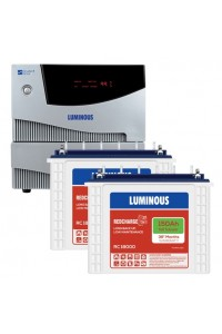Luminous Cruze 2KVA with 2 x Luminous Red Charge RC18000