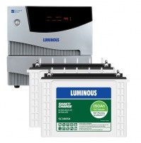 Luminous Cruze 2KVA Inverter + 2 x Luminous SC18054 Batteries
