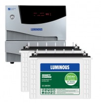 Luminous Cruze+ 2KVA Inverter with 2 x Luminous Shakti Charge SC18054 150AH Tall Tubular Battery