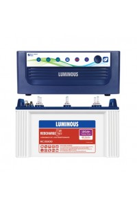 Luminous Home UPS EcoVolt+ 1050 with Red Charge RC15000