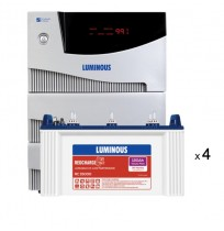 Luminous Cruze 3.5KVA with 4 x Luminous Red Charge RC15000