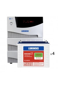 Luminous Cruze 3.5KVA with 4 x Luminous Red Charge RC18000