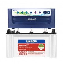 Luminous EcoVolt 1050 with Luminous Red Charge RC18000ST