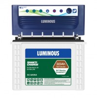 Luminous EcoVolt+ 1050 Inverter + Luminous SC12054 Battery