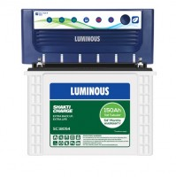 Luminous EcoVolt NEO 1050 Inverter with Luminous Shakti Charge SC18054 150AH Tall Tubular Battery