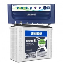 Luminous Home UPS EcoVolt+ 1050 with Luminous Inverlast XL18066