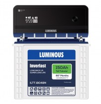 Luminous Zelio+ 1100 Inverter with Luminous Inverlast ILTT18048N 150AH Tall Tubular Battery