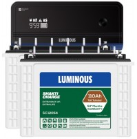 Luminous Zelio1700 Inverter + 2xLuminous SC12054 Batteries