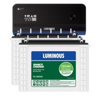 Luminous Zelio+ 1700 Inverter + 2xLuminous SC18054 Batteries
