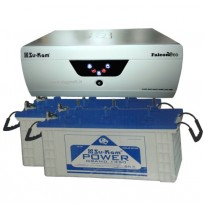 Su-Kam Falcon Eco 2000 Inverter + 2xSu-Kam Bazooka150 Battery