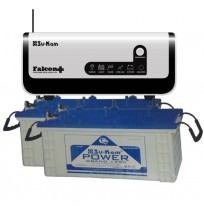 Su-Kam Falcon+ 1.6KVA Inverter + 2xSu-Kam PowerGrand 135 Batteries