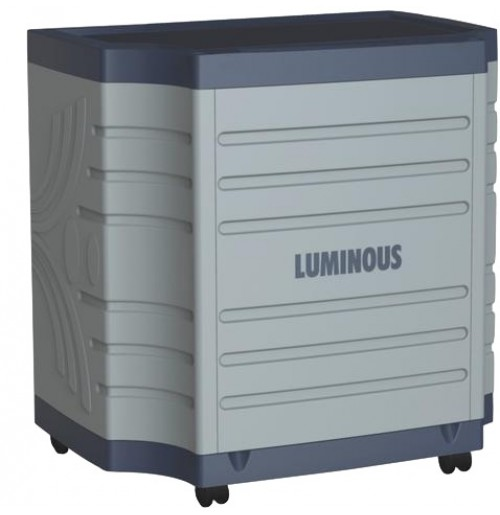 Luminous Single battery Plastic Tall Trolley