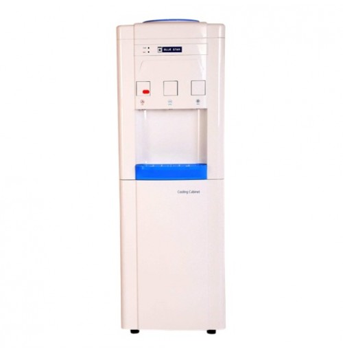 Blue Star Bottled water dispenser BWD3FMRGA - Top loading with refrigerated storage cabin